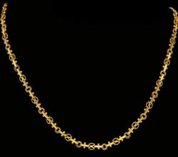 22K 20K YELLOW GOLD CHAIN NECKLACE VERY GOOD DURABLE SELECT YOUR LENGTH
