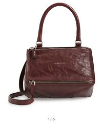 Givenchy Women's 'Small Pepe Pandora' Leather Crossbody Designer Hand Bag