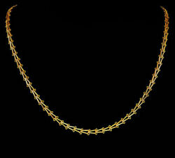 22k 20k Yellow Gold Handmade Unisex Chain Necklace Select Your Length And Karat