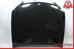 07-13 MERCEDES W221 S550 S63 AMG FRONT HOOD BONNET COVER ASSEMBLY SILVER OEM