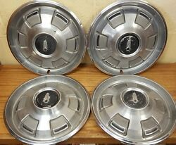 1967 - 1969 Plymouth Valiant Barracuda Pass 14 Wheel Covers 1968 320 Set Of 4