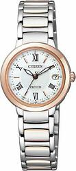 Citizen 2016 Exceed Eco-Drive Happy Flight Series Es9324-51W Womens Watch New