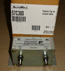Reliance Electric 57c380 Communication Card Passive Tap For Coaxialcable Automax