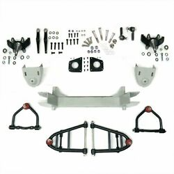 Mustang Ii 2 Ifs Front End Kit For 1939 - 1956 Mercury W 2 In Drop Spindles
