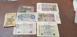Germany Set Of 7 Tickets Various To Sort - Ref48231