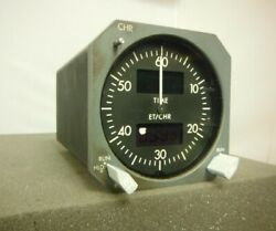 Boeing 737cl Smiths Inds. Digital Chronometer/clock As-removed P/n-2600-03-1