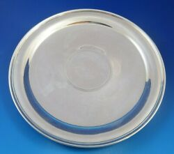 Vintage And Company Sterling Silver Tray W/ Raised Base 6863