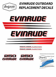 Evinrude Ficht Ram Injection 250hp Outboard Replacement Decals/stickers