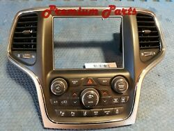 Jeep Grand Cherokee Dash 8.4 Inch Radio Trim Touch Screen Bezel With Switches