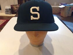 Vtg Nwt Michigan State Spartans Pro Line Fitted Usa Rare Baseball Hat Sz 71/4