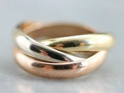Vintage Trinity Rolling Ring, Classic Model
