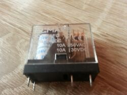 Jox14fc-1zpower Relay10a Ac/dc Pcb Mount Relay5 Pins Coil 24vdc+socket Relay