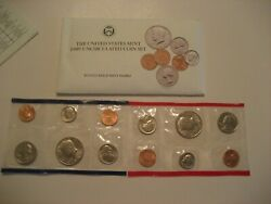1989 P And D Us Mint Uncirculated Coin Set