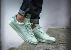 Adidas Original Stan Smith Adults Premium Leather Trainers Rrpandpound95.00