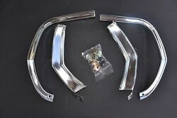 65 1965 Chevelle Or El Camino Fender Eyebrow Moldings With Clips