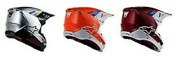 Alpinestars Supertech M8 Contact Motocross Dirt Bike ATV MX Racing Helmet
