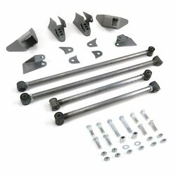 Stage2 Triangulated Rear Suspension Four 4 Link Kit For 49-61 Desoto