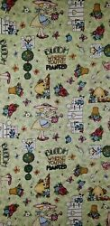 CRANSTON PRINT WORKS BLOOM WHERE YOUR PLANTED FAT QUARTER COTTON QUILTING FABRIC