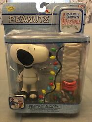 A Charlie Brown Christmas Festive Snoopy Peanuts New In Distressed Packaging