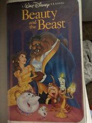 Black Diamond Classic Beauty And The Beast Vhs. This Is A Rare Vhs Disney Reales