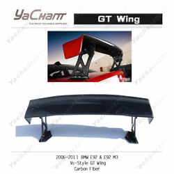 Carbon Rear Spoiler Fit For 2006-2011 Bmw E92 And E92 M3 Vs-style Gt Wing
