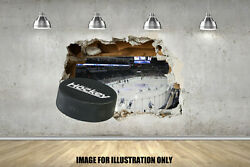 3D Ice Hockey Wall Smash Childrens Wall Stickers Bedroom Wall Art 4 Sizes