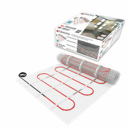 Underfloor Heating Cable Electric Wire Mat Kit Tiles Floor Bathroom Thermostat