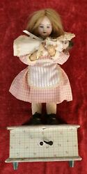 Automatic Doll. Music Box. Armand Marseille. Made In Germany. Xix-xx Century