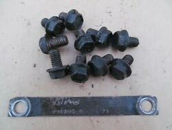 1972 Ford F250 Dana 60 Axle Tag And Bolts - D0ta-as Tag 3.73 Open