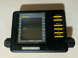 Humminbird Lcr 400 Fish Finder Head Unit Only Free Sandh As-is Untested