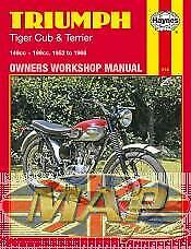 Haynes Triumph Tiger Cub and Terrier 52-68 Owners Workshop Manual  M414