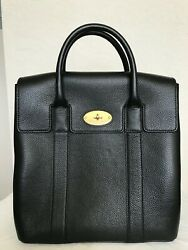 Mulberry Bayswater Backpack Small Classic Grain In Black - Used Under 1 Hour