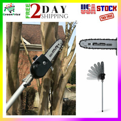 10 In. Universal Articulating Pole Saw Attachment Expand Pruner Oiler Sunseeker
