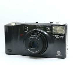 【n Mint】 Minolta Panorama Zoom 105 Af Compact 35mm Film Camera From Japan 688