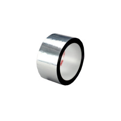3m™ Polyester Film Tape 850, Silver, 1 In X 72 Yd, 1.9 Mil
