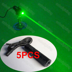 5x 80mw Powerful Thick Beam Escape Room Game Props Laser Diode 532nm Green Laser