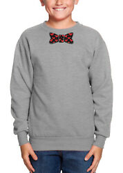 Bowtie With Hearts - Love Valentineand039s Day Stud Handsome Youth Crew