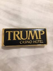 Trump Casino Vintage Original Money Clip One Of A Kind Maybe A Handful Left