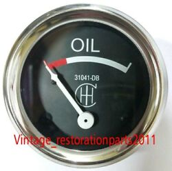 Oem Style Ih Farmall Oil Pressure Gauge 0-15psi Stud Mounted 52mm - 31041dbh