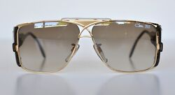 Cazal Vintage Sunglasses - NOS - Model 955 - Col.97- Gold. Lens: Gradient Brown