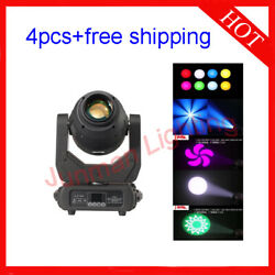 250w Led Beam Spot Wash 3 In 1 Moving Head Dj Stage Light 4pcs Free Shipping