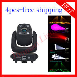 140w Led Moving Head Spot Wash Dj Stage Party Effect Light 4pcs Free Shipping