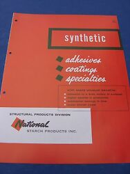National Starch Products Inc Catalog Unilever Imperial Chemical Industries 1950s