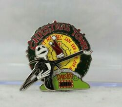 A4 Disney Dsf Dssh Le Pin Event Nightmare Before Christmas Town Jack Countdown