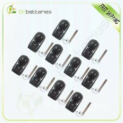 10 Pieces New Uncut Replacement Keyless Remote Key Fob Smart System For Buick