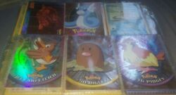Rare Collectible Holographic Pokemon Topps Trading Cards Limited Secret