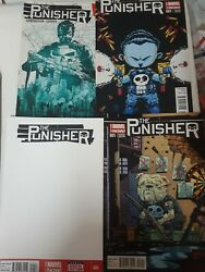 Marvel Comic Lot The Punisher 1-19 Variants 1 11 Young Sketch Vf+ Bagged 2014