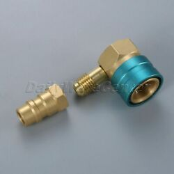 Air-Conditioning Low Side R1234yf Quick Coupler with R12 to R134A Adapter Valve