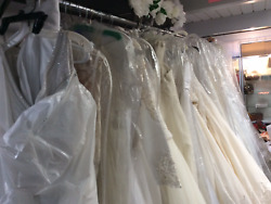 60 Wedding dress Lot new and preowned size 0-22