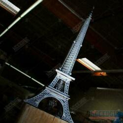 10 Eiffel Tower Collectible Dagger Letter Opener Statue Great Display Piece
